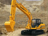 龙工挖掘机新品LG6225D、LG6245H夏季闪耀上市