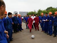 龙工铸锻第一届趣味运动会足球