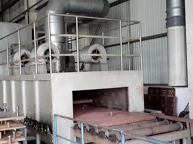 砂芯表干炉