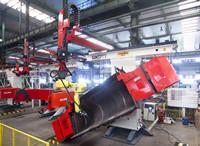 装载机铲斗总成焊接