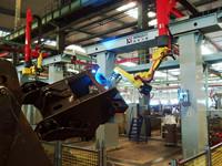 裝載機前車架焊接