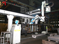 叉車大噸位門架焊接