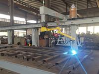 矿用车底板焊接